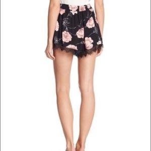 MUSTARD SEED Floral Pyjama Shorts